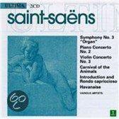 "Saint-Saens: Symphony No. 3 ""Organ""; Piano Concerto No. 2; Violin Concerto No. 3; Carnival of the Animals; etc."