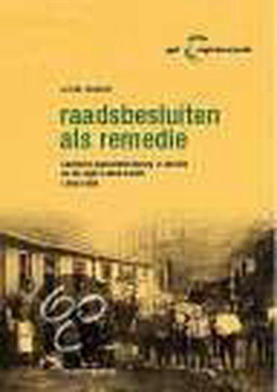 RAADSBESLUITEN ALS REMEDIE. OPENBARE GEZONDHEIDSZORG IN ZWOLLE EN DE R - Kerkhoff | Readingchampions.org.uk