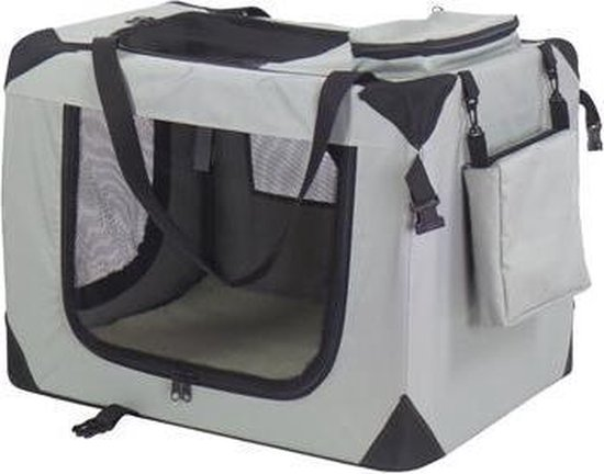 Auto Bench reisBench nylon Bench - honden Bench XXXXL grijs 121x79x80 cm