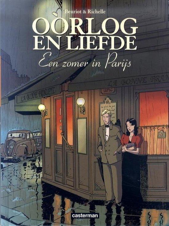 Cover van het boek 'Oorlog en liefde 002 Een zomer in Parijs'
