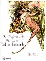 Art Nouveau and Art Deco Fashion Postcards