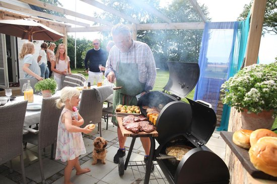 Landmann Vinson 210 Smokerbarbecue zwart | Barbecue, Zwart