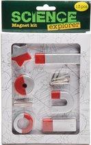 Science Explorer Magnetenset 6 magneten met accesoires