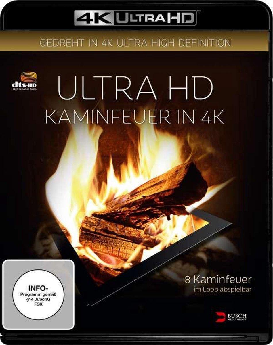 Kaminfeuer in 4K (Ultra HD Blu-ray)-