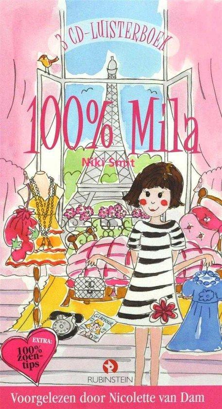 Cover van het boek '100% Mila' van N. Smit
