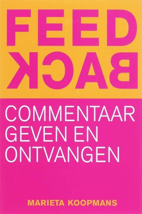 Feedback - Marieta Koopmans |