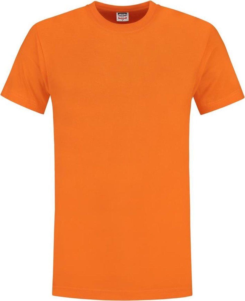 Tricorp 101001 T-Shirt 145 Gram Oranje maat XXXL