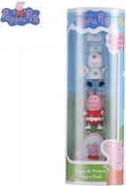 Peppa Pig Speelfiguren familie verpakking - Speel figuren set van 4