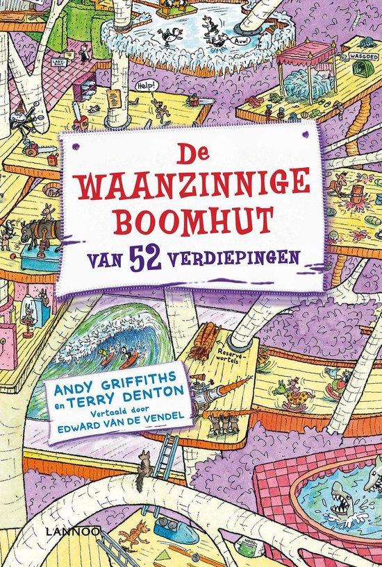 De waanzinnige boomhut 4 - De waanzinnige boomhut van 52 verdiepingen - Andy Griffiths |