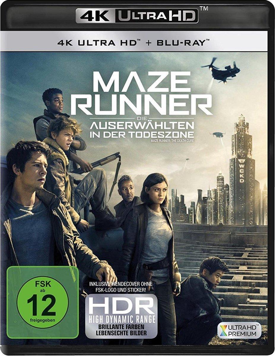 Maze Runner: The Death Cure (2018) (Ultra HD Blu-ray & Blu-ray)-