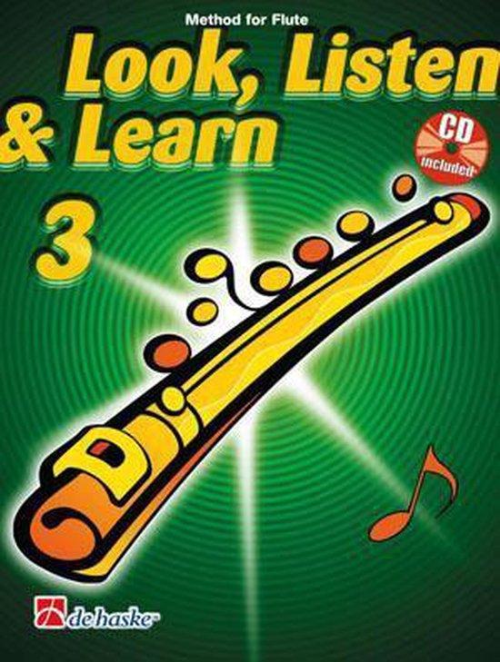Look Listen Learn 3 Flute - Jaap Kastelein   Fthsonline.com