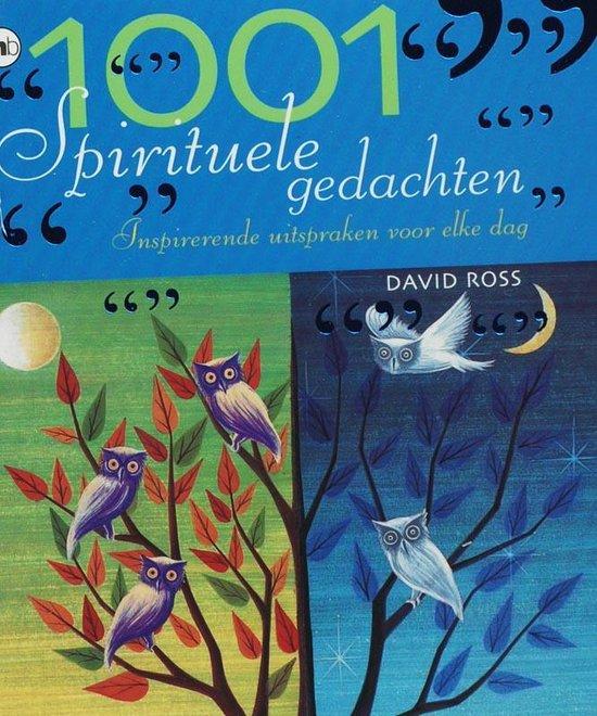 Cover van het boek '1001 Spirituele gedachten' van D. Ross