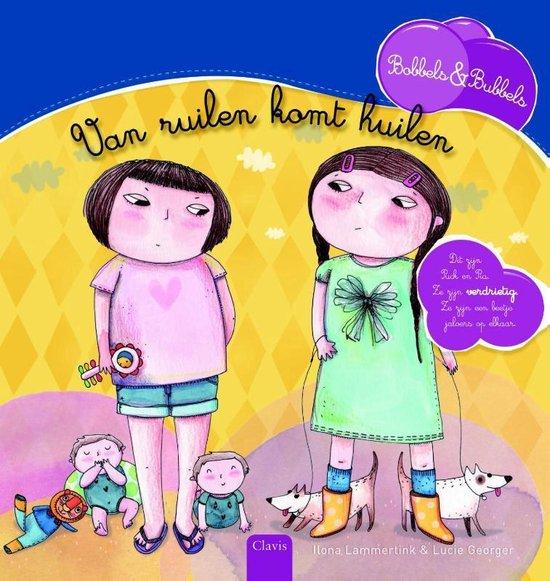 Boek cover Bobbels & Bubbels  -   Van ruilen komt huilen van Ilona Lammertink (Hardcover)