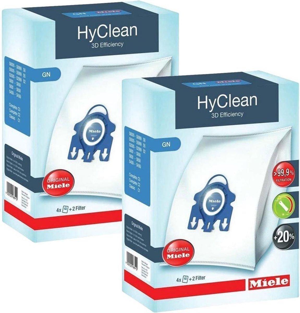 Miele HyClean GN - Stofzuigerzakken - 8 Stuks  + filters