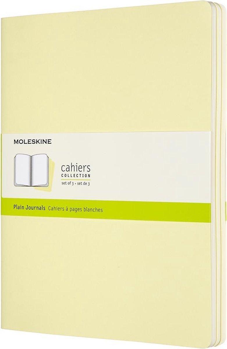 Moleskine Cahier Journals-Xl-Blanco-Geel
