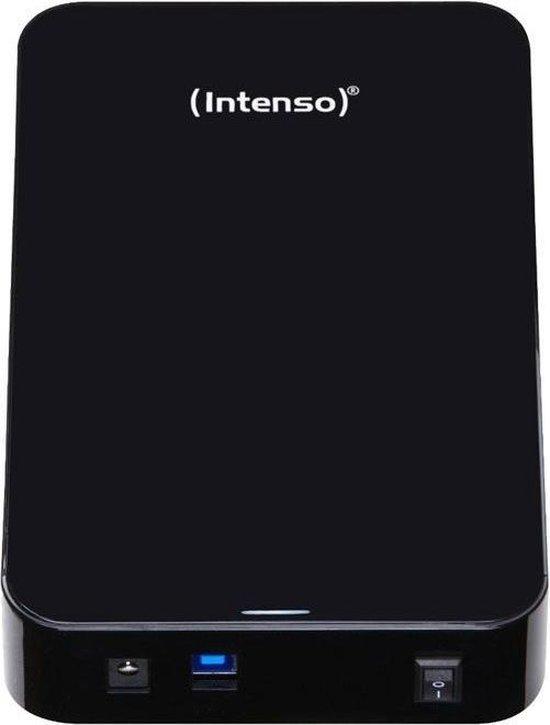 Intenso Memory Center 6 TB Externe harde schijf (3.5 inch) USB 3.2 Gen 1 (USB 3.0) Zwart 6031514 - Intenso