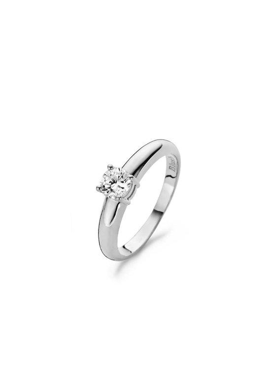 Blush Ring 1129WZI -  Wit Goud (14Krt.) met Zirconia