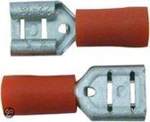 Skandia Vlakstekers - Rood - 10 Stuks