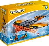 Twickto constructiespeelgoed – Vliegtuig & Raket – speelgoed (6 - 99 jaar) – Constructie bouwset / bouwspeelgoed – Set Aviation #2 – 46 Delig