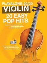 Boek cover Playalong 20/20 Violin van Hal Leonard Publishing Corporati