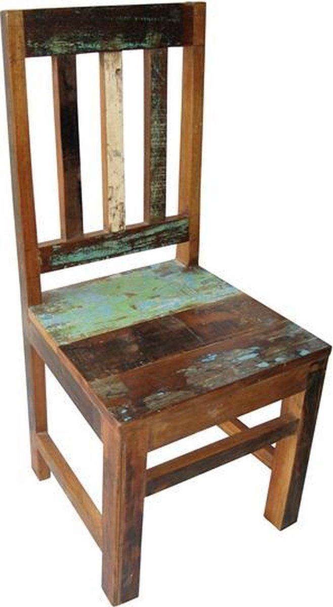 Fairtrade Kinderstoel Scrapwood / Sloophout - ECO Design
