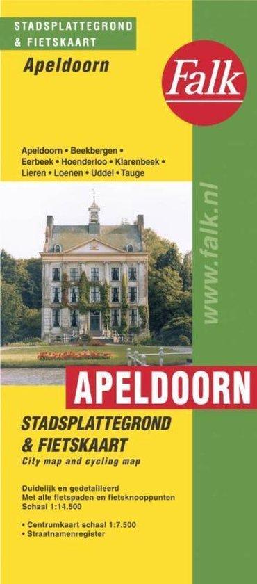 ANWB fietskaart - Apeldoorn plattegrond - none   Readingchampions.org.uk