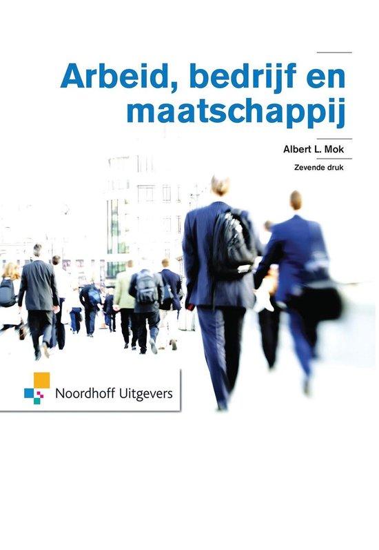 Boek cover Arbeid, bedrijf en maatschappij van Albert L. Mok (Paperback)