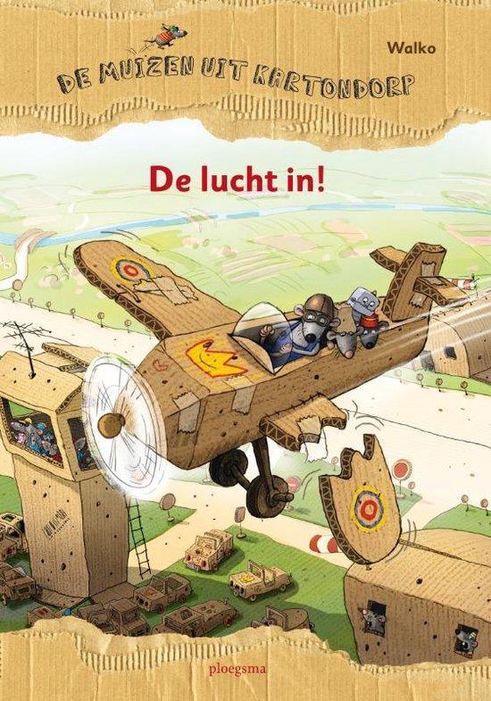 Cover van het boek 'De lucht in!' van  Walko