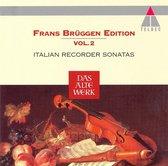 Italian Recorder Sonatas / Bruggen, Bylsma, Leonhardt