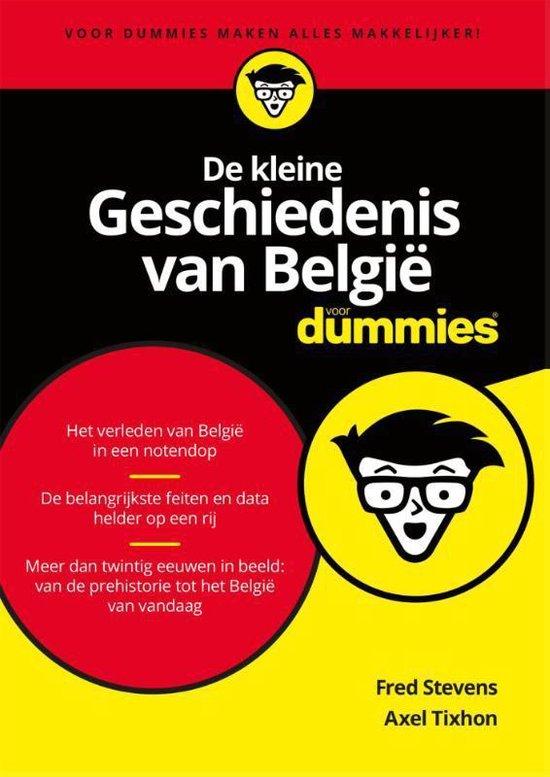 Afbeelding van Voor Dummies - De kleine geschiedenis van België voor Dummies