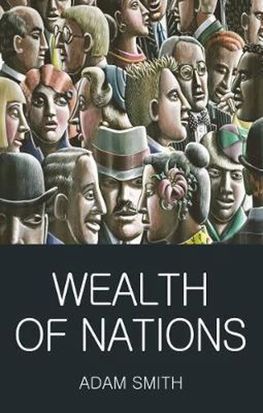 Boek cover Wealth of Nations van Adam Smith (Paperback)