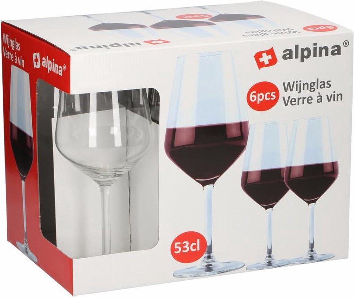 Wijnglazen - rode wijn