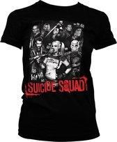 DC Comics Suicide Squad Dames Tshirt -M- Suicide Squad Zwart