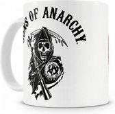 Sons of Anarchy mok / beker Redwood - 325 ml - Porselein