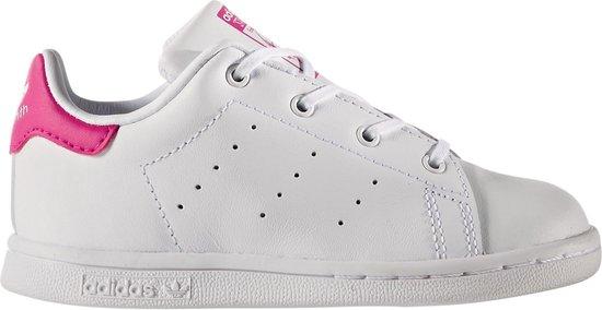 Generalmente hablando Más gloria  bol.com | adidas Stan Smith I Sneakers - Maat 23 - Unisex - wit/roze