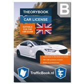 Boek cover English Car Driving License B - Car Theory Book 2021 van Trafficbook.nl (Paperback)