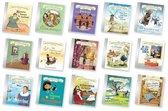 Hollandse Helden zilveren kinderboekjes set (15-delig)