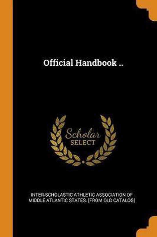 Official Handbook ..