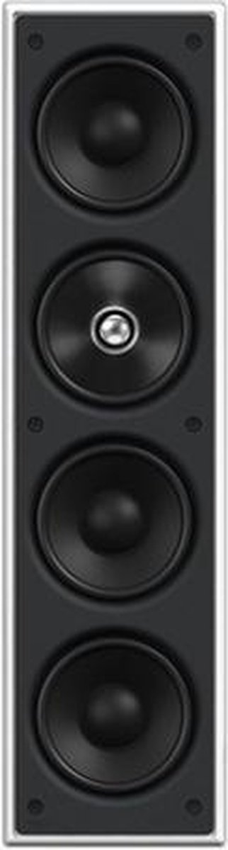 KEF Ci4100QL luidspreker 150 W Zwart, Wit