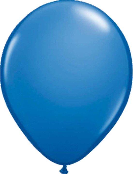 Ballonnen donkerblauw 30cm - 100 stuks