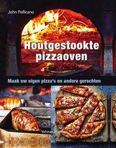 Boek cover Houtgestookte pizzaoven van John Pellicano