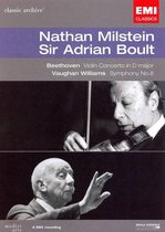 Beethoven: Violin Concerto in D major; Vaughan Williams: Symphony No. 8 [DVD Video]