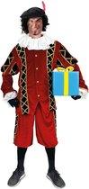 Piet pak 'Pedro' zwart/rood XL