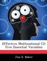 Effective Multinational C2