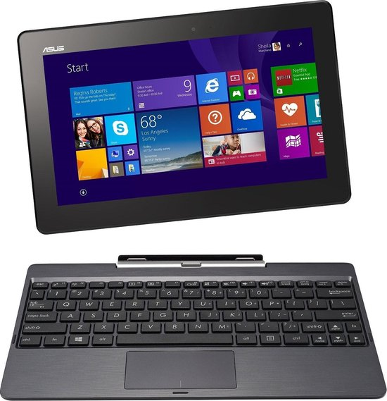 Asus Transformer Book T100TAM-DK001B - Hybride Laptop Tablet