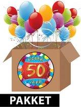 50 jaar versiering voordeel pakket - Multi