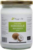 Puur&Fit Kokosolie Biologisch - 500 gram