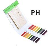 Complete set PH papier - 80 strips - PH meter - Mapje lakmoes strips - Voor tuin, aquarium, laboratorium of zwembad - Zuur / Base