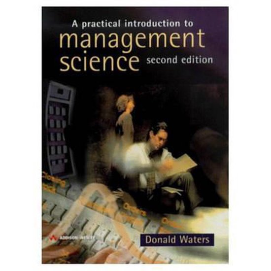 Boek cover A Practical Introduction to Management Science van Waters Donald (Paperback)