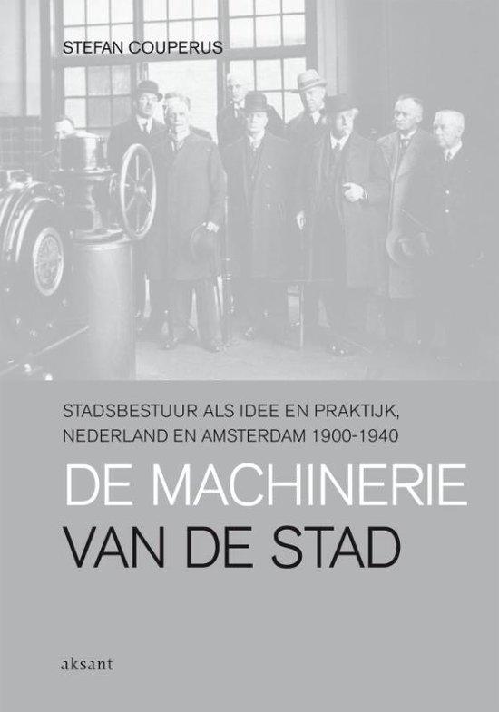 Cover van het boek 'De machinerie van de stad' van S. Couperus